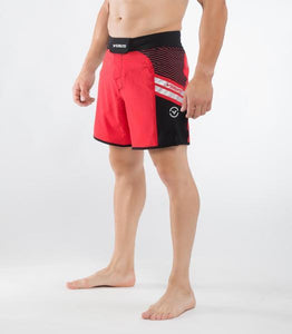 Men's Disaster II Combat Shorts (ST2) Black/Red