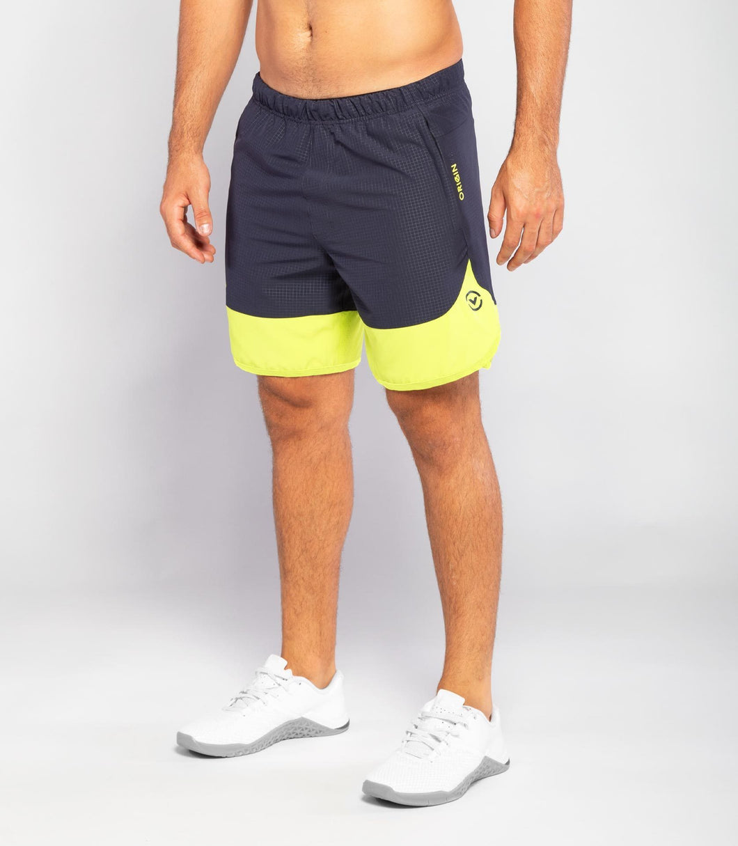 ST8 | Origin 2 Active Shorts | Midnight Blue/Lime Punch