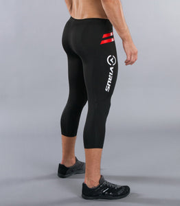 Sio6 | CoffeeChar™ thermal 3/4 Compression Pants | Black