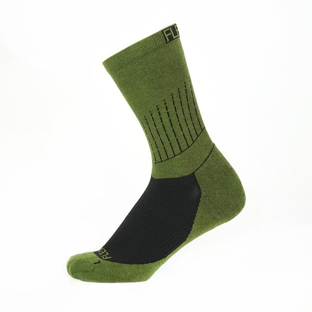 Flexion ArchFlex Crew Socks - Safari