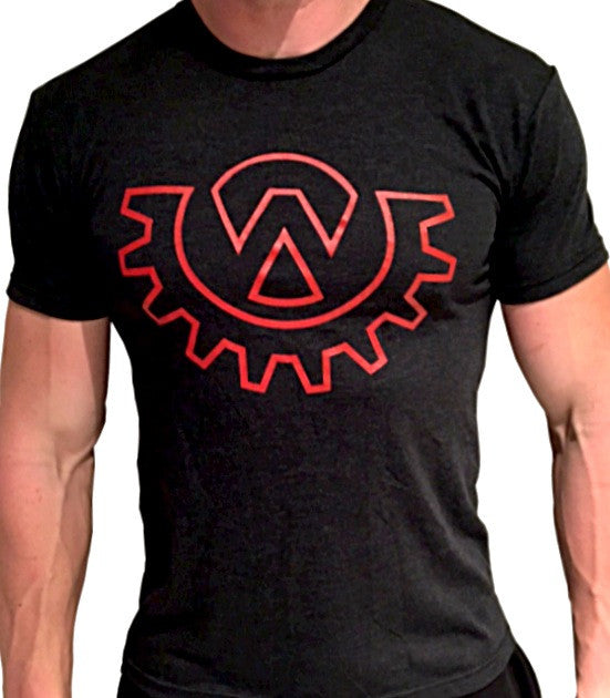 Wod Gear Men's Symbol Tee Black/Red