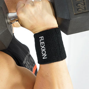 Flexion Sweatbands (Pair) - Black