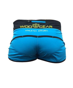 Wod Gear Ladies Air Tech Shorts Blue