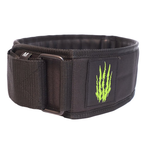 Bear Komplex Apex premium Velco Weightlifting Belt - Black