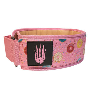 Bear Komplex Apex premium Velco Weightlifting Belt - Donuts