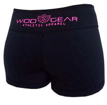 Wod Gear Ladies Wod Shorts Black