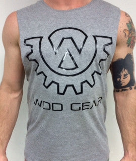 Wod Gear Muscle Tank Grey/Black