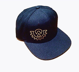 Wod Gear Snapback Hat Black/Gold