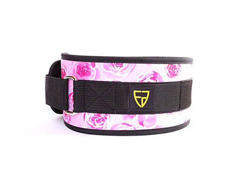 Fortify Gear Love Story Velcro Weightlifting Belt