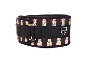 Fortify Gear Pineapple Weightlifting Belt