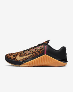 Nike Metcon 6 Women's Training Shoe - Black/Chutney/Gum Medium Brown/Metallic Gold