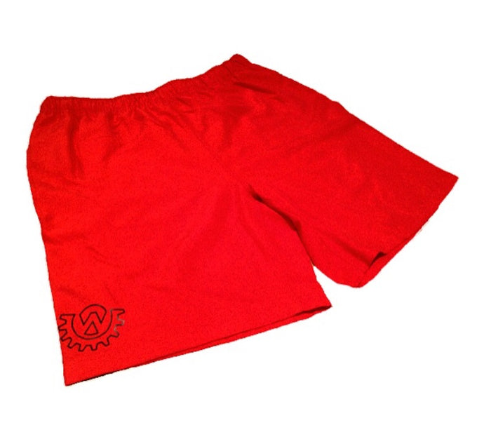 Wod Gear Men's Board Short Red