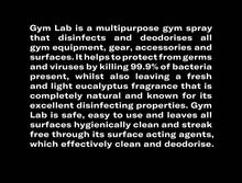 Gym Lab Multipurpose Equipment Sanitizer