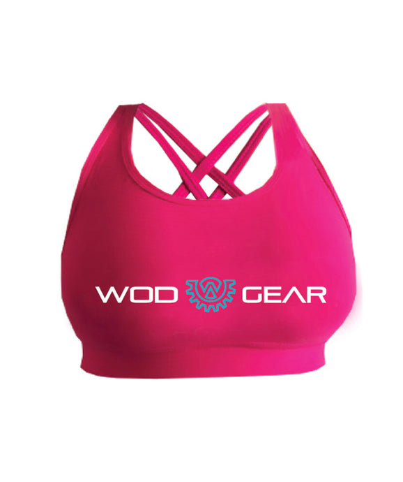 Wod Gear Women's Wod Crop - Pink