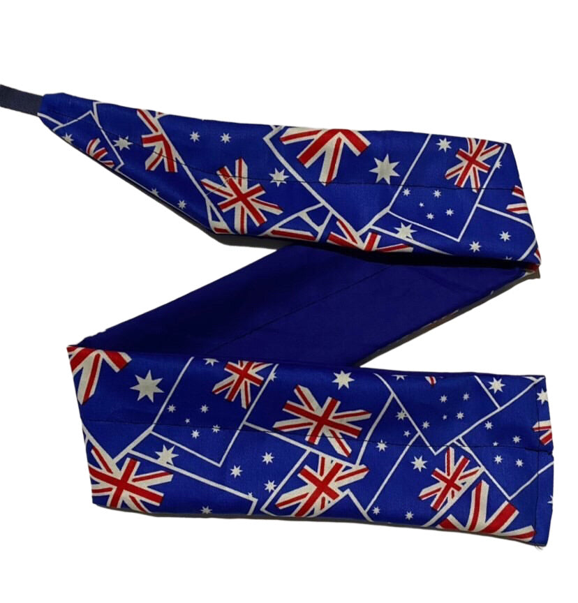 Always Stronger Wrist Wraps - Aussie Flag