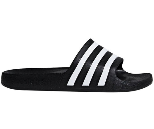 Adidas Aqua Slides Unisex - Core Black/White