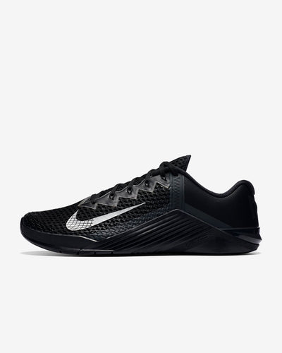 Nike Metcon 6 Men's Training Shoe -  Black/Anthracite/Metallic Silver