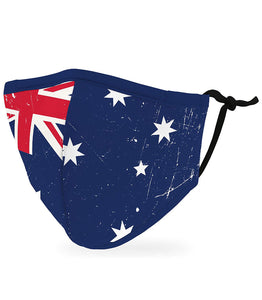 Face mask adult - Aussie flag