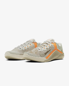 Nike Metcon 6 Men's Training Shoe - Light Bone/Mystic Stone/Total Orange/Yukon Brown