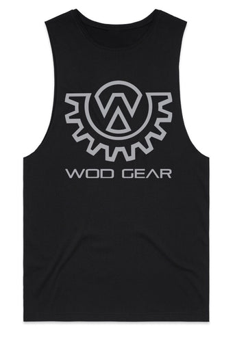 Wod Gear Men's Muscle Tank Black/Grey