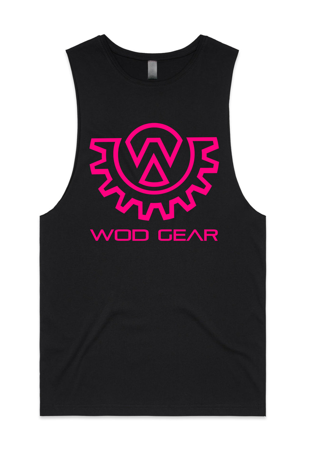 Wod Gear Women's Muscle Tank Black/Pink