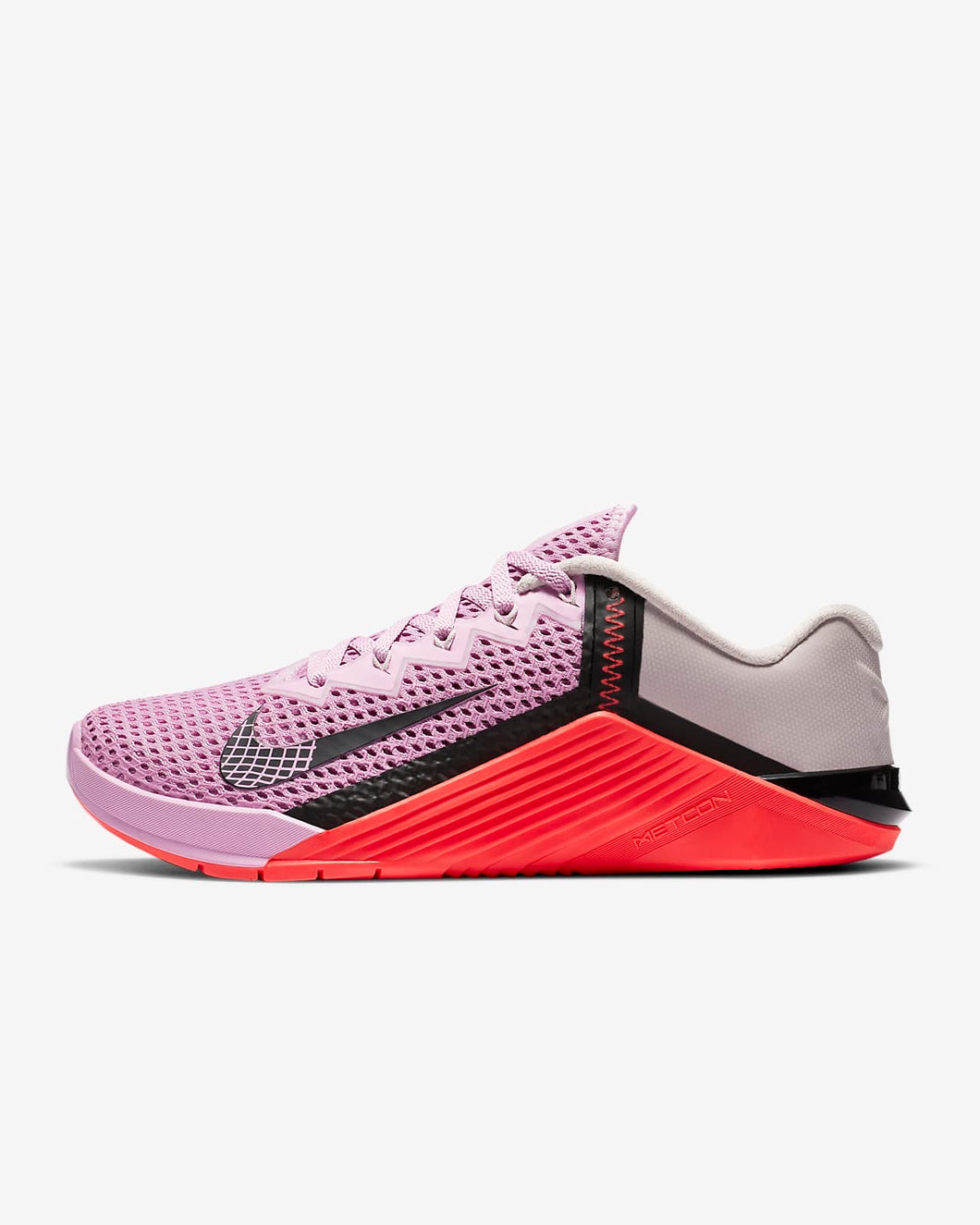 Nike Metcon 6 Women's Training Shoe - Beyond Pink/Flash Crimson/Platinum Violet/Black