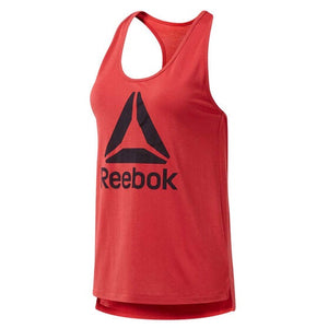 Reebok Workout Ready Supremium Racerback Tank Red