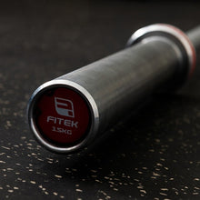 FITEK Elite Bearing Barbell 15kg - Hard Chrome