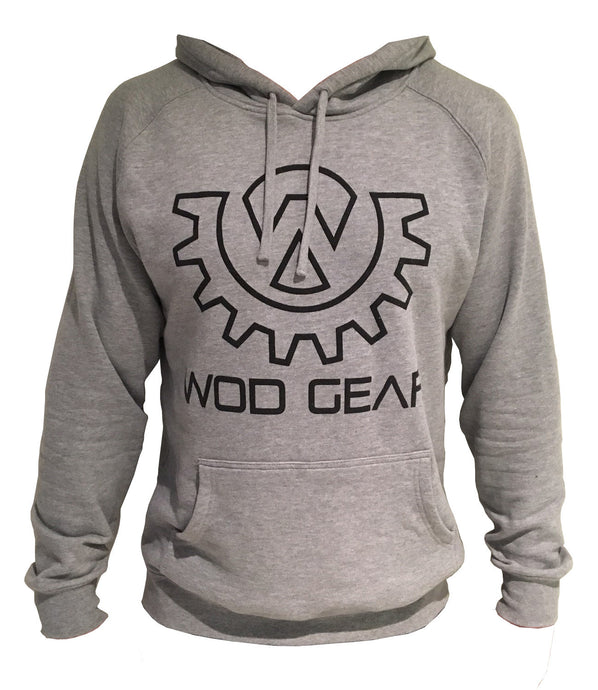 Wod Gear Hoody Grey