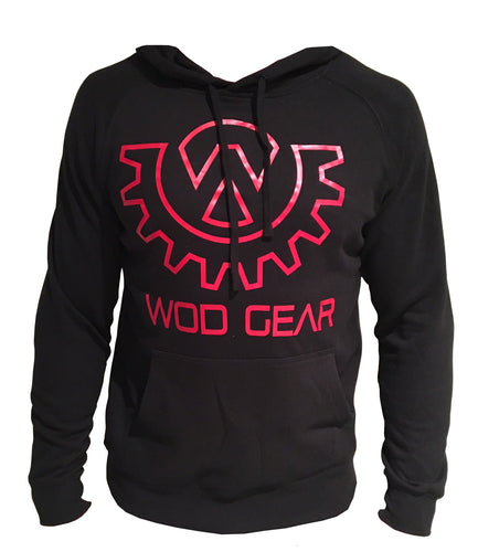 Wod Gear Hoody Black/Red
