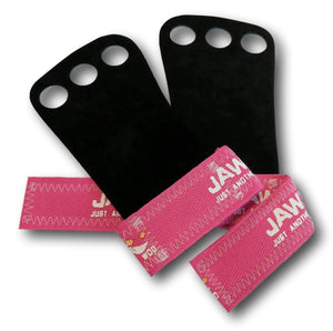 JAW 3 Finger Leather Grips