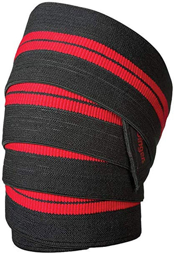 Red Line Deluxe Knee Wraps (Pair)