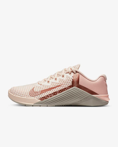Nike Metcon 6 Women's Training Shoe - Guava Ice/Stone/Washed Coral/Metallic Red Bronze