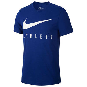 Nike Swoosh Athlete T-Shirt Navy/White
