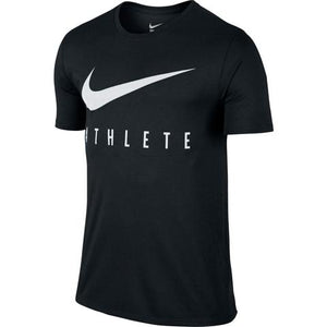 Nike Swoosh Athlete T-Shirt Black/White