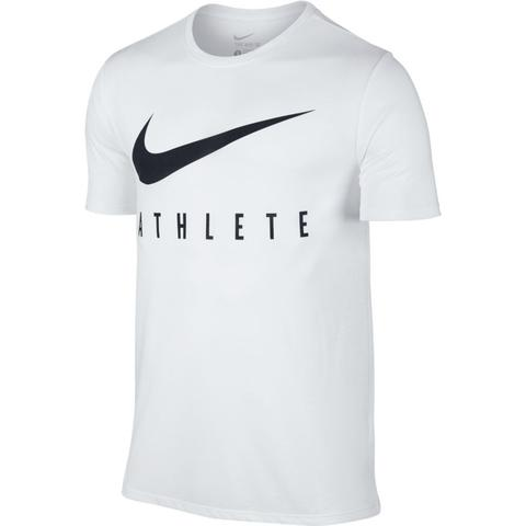Nike Swoosh Athlete T-Shirt White/Black