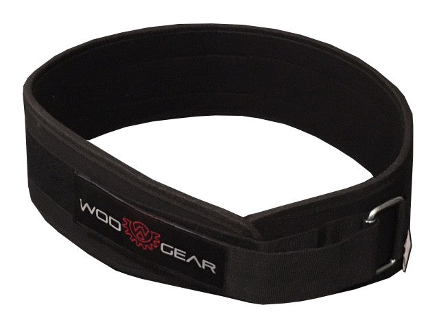 Wod Gear Nylon Weightlifting Belt Black