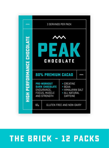 Peak Chocolate (12 bar pack)