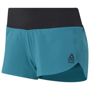 Reebok CrossFit Knit AMRAP Women's Shorts - Seaport Teal