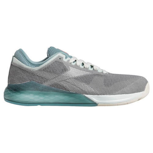 Reebok CrossFit Nano 9 Women's Shoe - Cold Shadow/Stone Glow/Metal Silver