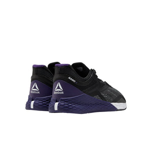 Reebok Nano X Men's Training Shoe - Black/White/Mystic Orchid