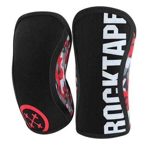 Rocktape Assassin Knee Sleeves Red Camo