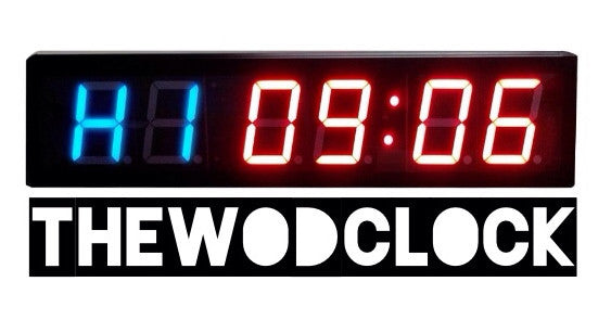 The Wod Clock Wall timer