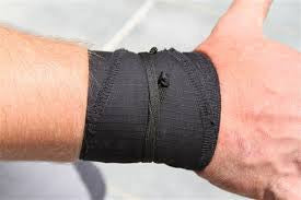 Wod Gear Wrist Wraps Black