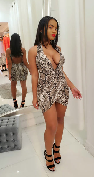 Sneaking in Mini Dress