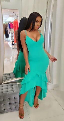 Princess Flare Body-Con Dress