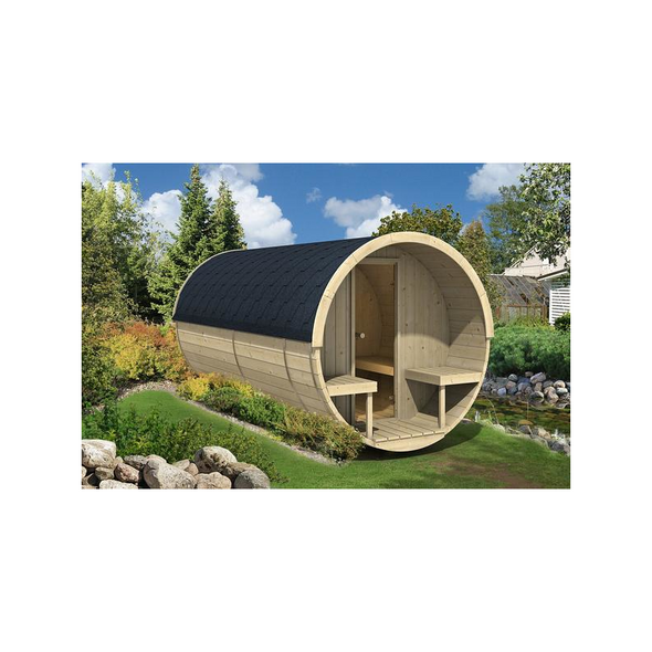 Allwood® Barrel Sauna
