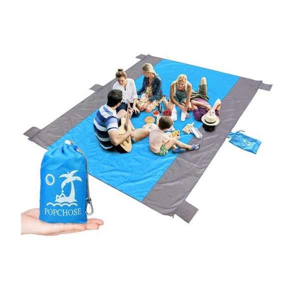 POPCHOSE® Water Resistant 9'x7' Beach Blanket