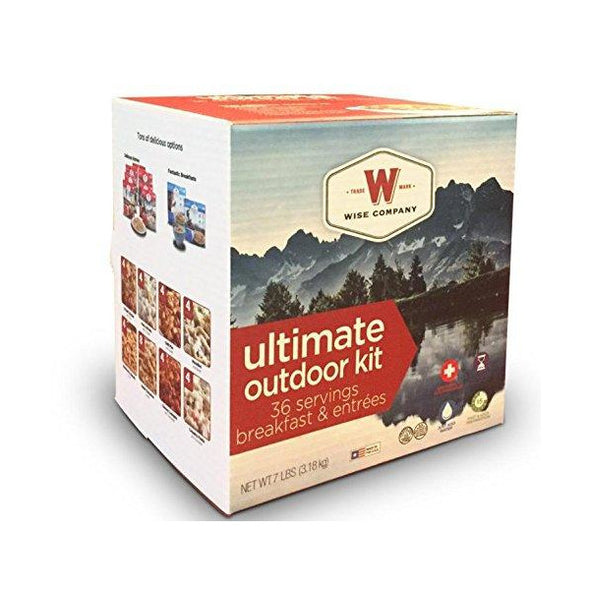 Wise Company® Freeze-Dried Camping Foods (40 Servings)