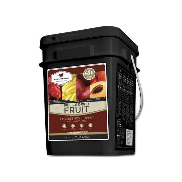 Wise Foods, Gluten-Free Freeze Dried Fruit (156 Servings)